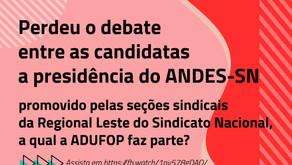 Eleições ANDES-SN - Assista o debate