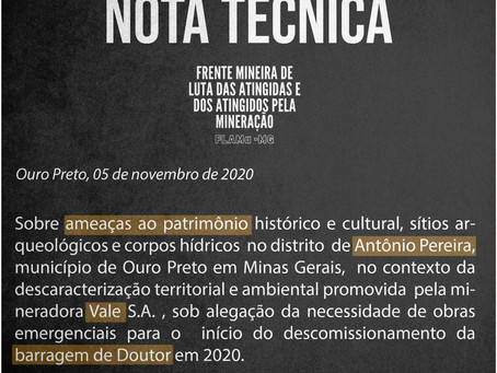 Nota técnica FLAMa-MG