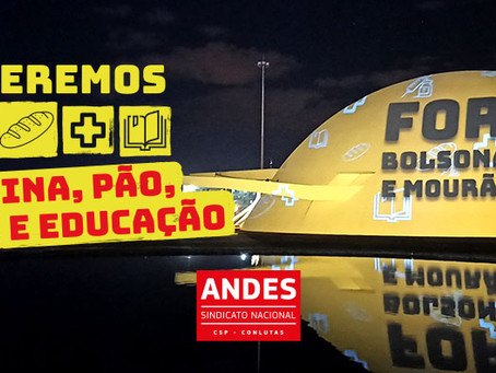 29M: Dia Nacional de Mobilização pelo Fora Bolsonaro e Mourão