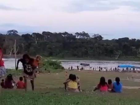 Garimpeiros atiram e jogam bombas contra indígenas na Terra Yanomami (RR)