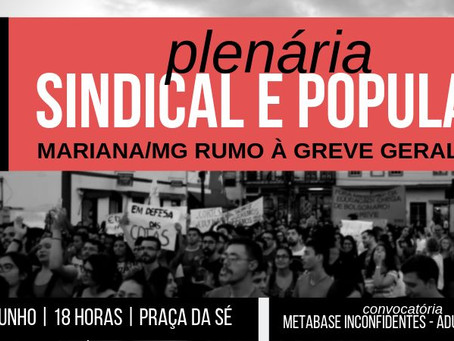 Plenária Sindical e Popular