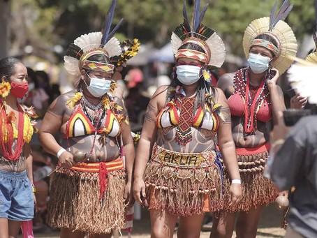 Acampamento da II Marcha Nacional das Mulheres Indígenas reúne 5 mil mulheres indígenas