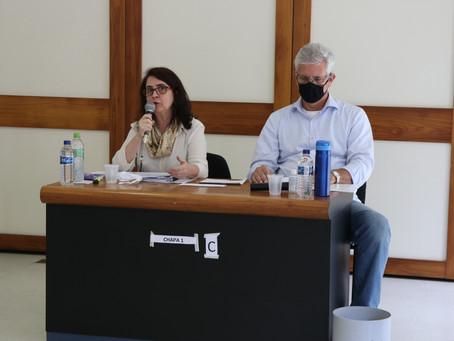 Reitora da UFOP toma posse em Brasília para segundo mandato