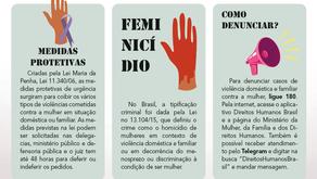 Casos de feminicídio crescem no país durante pandemia