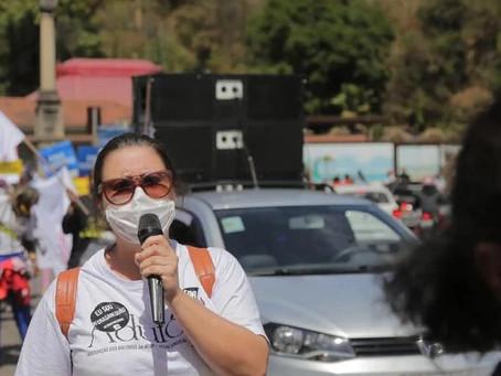 Caminhada mobiliza Ouro Preto contra a Sanerouro