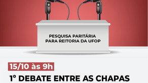 Pesquisa Paritária: 1º debate entre as chapas ocorre nesta quinta-feira (15)