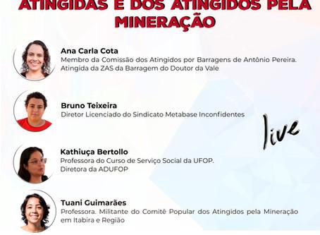 Live: Frente Mineira de Luta das Atingidas e dos Atingidos pela Mineração
