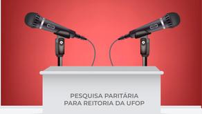 Pesquisa Paritária UFOP: assista o 2º debate entre as chapas