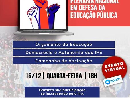 Plenária Nacional em Defesa da Educação Pública