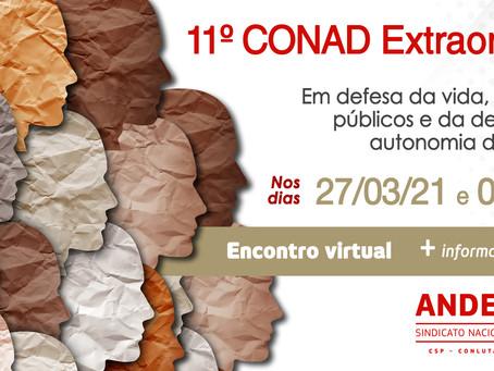 11º Conad extraordinário do ANDES-SN deve debater realização do 40º Congresso da categoria docente