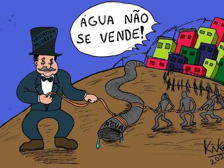 Carta do povo de Ouro Preto: Roubam nosso minério e agora querem nossa água