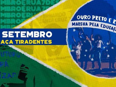 Marcha pela Educação e Amazônia em Ouro Preto