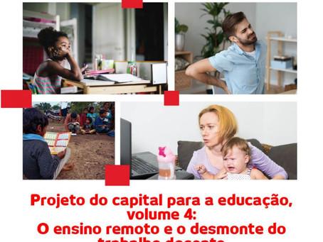 ANDES-SN lança cartilha sobre ensino remoto e o desmonte do trabalho docente