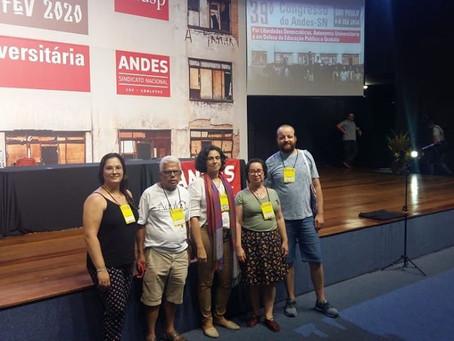 39º Congresso do ANDES-SN foi pautado por intensos debates