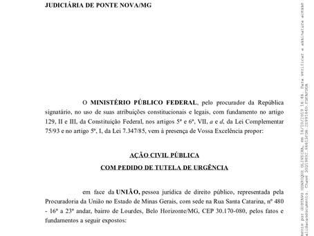 Ministério Público Federal ajuíza ação contra o Decreto que extingue funções gratificadas