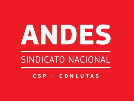 Setores do ANDES-SN indicam rodada de assembleias para discutir greve sanitária em 2021
