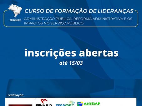 """Curso: """"Administração Pública, a Reforma Administrativa e os impactos no Serviço Público"""