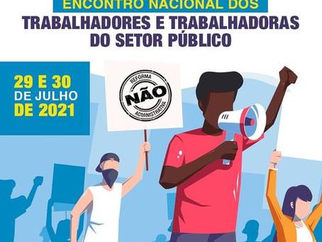 Encontro Nacional dos Trabalhadores e Trabalhadoras do Setor Público será realizado nos dias 29 e 30