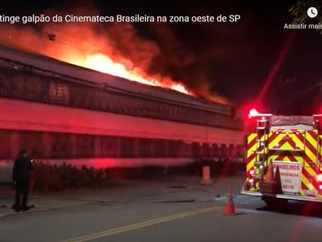Incêndio na Cinemateca de SP: resultado do descaso do governo com a cultura, a arte e a história