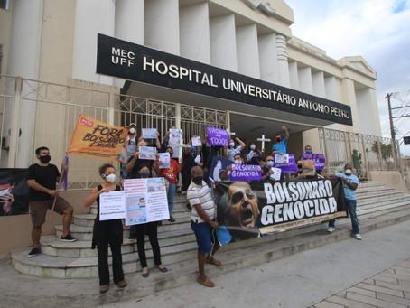 Frente contra Privatização da Saúde cobra medidas emergenciais para combater a pandemia