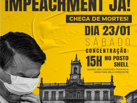 Sábado foi marcado por carreatas Fora Bolsonaro em todo o país