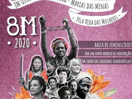 Dia Internacional da Mulher em Ouro Preto: Pela Vida das Mulheres