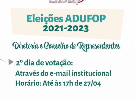 Eleições ADUFOP