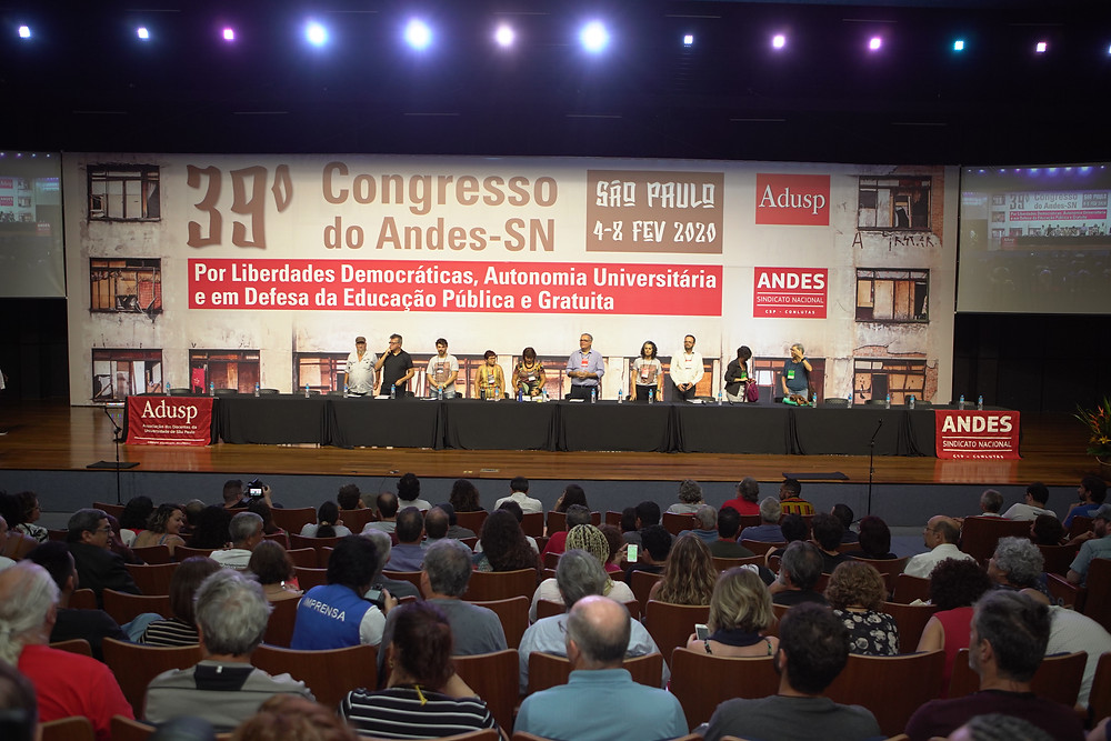 O 39º Congresso do ANDES-SN contou com debates fundamentais para a categoria docente e tomou decisões importantes, como a construção de uma greve no primeiro semestre e a continuidade da filiação do sindicato à CSP-Conlutas - ANDES-SN