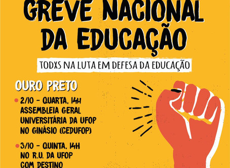 Estudantes, professores e TAES convocam a população para atos em defesa da educação