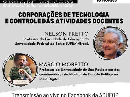 Ciclo de Debates: Corporações de tecnologia e controle das atividades docentes