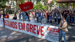 Trabalhadoras das fornecedoras da LG estão em greve há 23 dias em defesa dos empregos