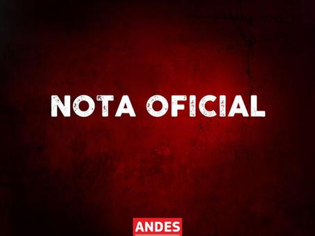 Nota da diretoria do ANDES Sindicato Nacional sobre as manifestações convocadas para o dia 12/09