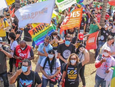 Todas as capitais têm atos contra a PEC 32 e pelo Fora Bora Bolsonaro