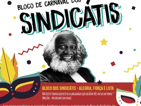 Carnaval Ouro Preto 2020 | Bloco dos Sindicátis – alegria, força e luta. Participe!