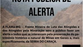 Nota pública de alerta: liberada a mineração da Serra do Caraça!