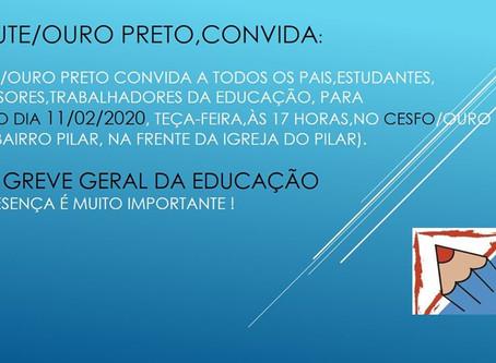Professores da rede estadual de Minas deflagraram greve. Entenda o porquê