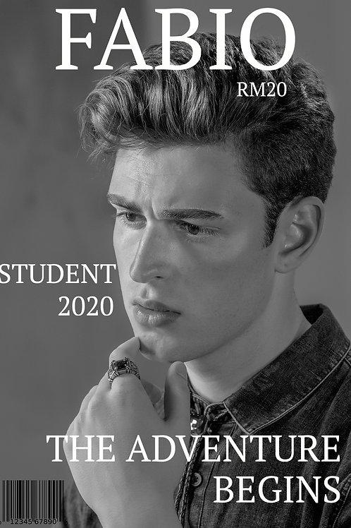 Studentskylt Premium 3