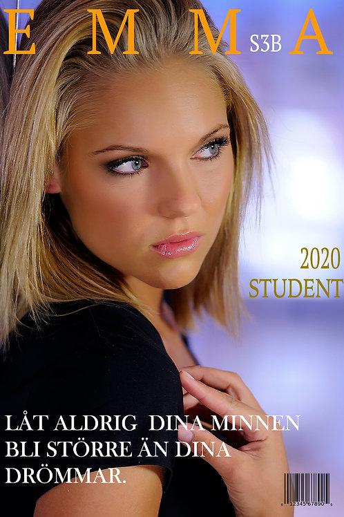 Studentskylt Premium 2