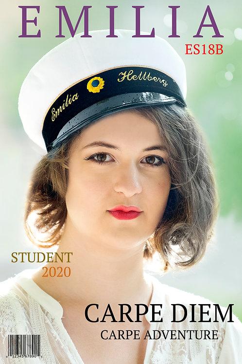 Studentskylt Premium 1