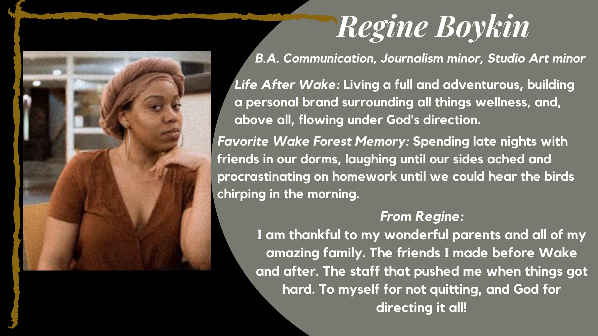 Regine Boykin