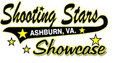 Shooting Stars Showcase Logo transparent