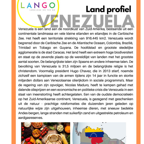 Country Profile Venezuela