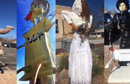 Participate in the Annual Scarecrow Contest!