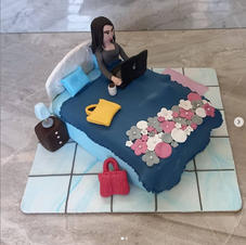 Work From Home Cake