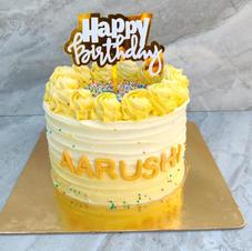 Yellow Swirl Cake