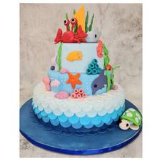 Sea Themed 3 Tier Cake