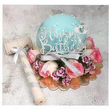 Blue Pinata Cake
