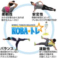 KOBA式体幹バランストレーニング 富田林 羽曳野 藤井寺 柏原 堺 松原 河内長野