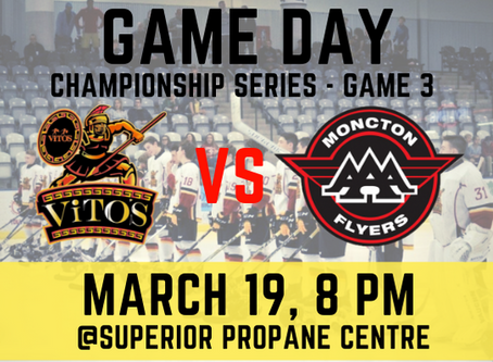 🏒New Brunswick Major Midget AAA Championship Series Game 3!🥅