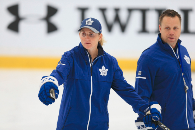 Maple Leafs Hiring Of Wickenheiser Is A Step Toward Progress In The Nhl